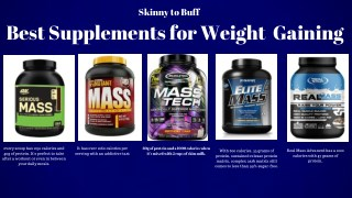 skinny to buff - best weight gaining products