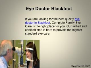 Eye Doctor Blackfoot