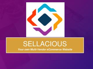 Sellacious-Your Own Multi-Vendor ECommerce Website