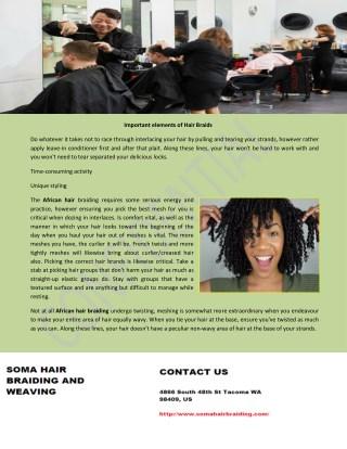 Hair braiding Bremerton