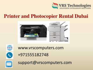 Printer Rental Dubai - Rent Printer - Lease Printer in Dubai