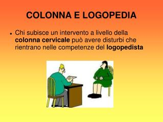 COLONNA E LOGOPEDIA