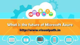 MS Azure Training | Microsoft Azure Online Training