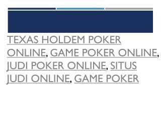 Earn Money from Judi Poker Online