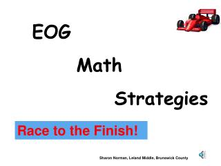 EOG        	Math    Strategies