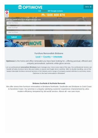 Brisbane Local Movers - Premium Local Removalists Brisbane