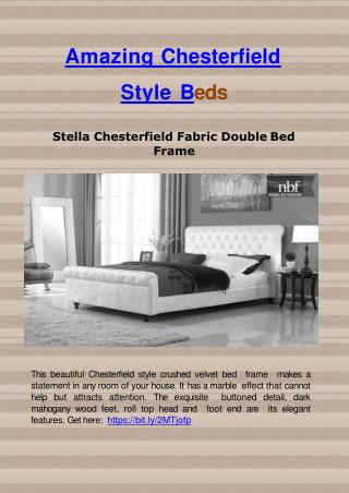 Amazing Chesterfield Style Beds