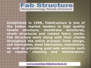 Tensile Structure in Mumbai
