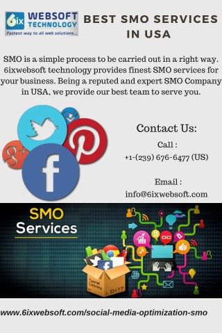 Best SMO Company USA