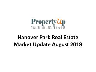 Hanover Park Real Estate Market Update August 2018