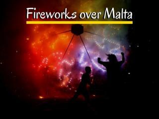Fireworks over Malta 2018