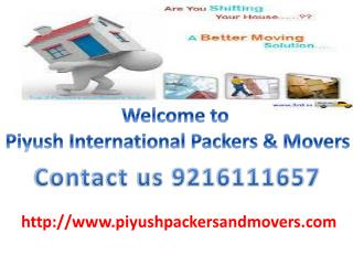 Movers packers In Chandigarh