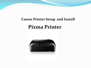 Canon.com/ijsetup| Canon Wireless Printer and Drivers Setup Support