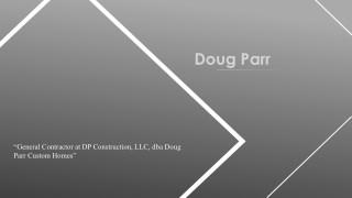 Doug Parr From Boyd, Texas