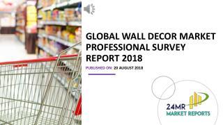 Global Wall Decor Market Professional Survey Report 2018