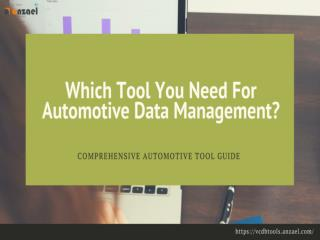 VCDB Tools for Automotive Data Conversion