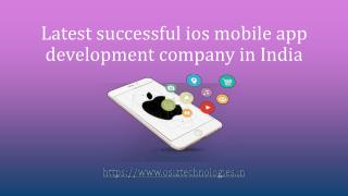 ios mobile app development company in India