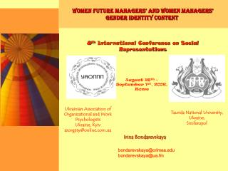 Women Future Managers  and Women Managers   Gender Identity Content