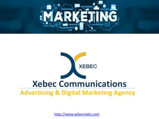 Xebec Communications PPT August 2018