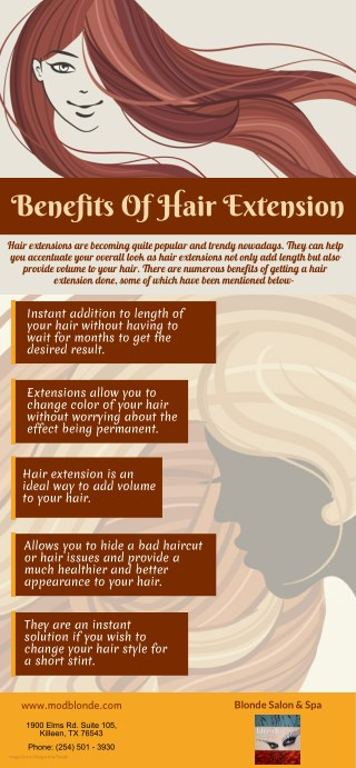 Benefits Of Hair Extension