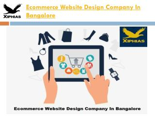 Ecommerce Website Design Company In Bangalore