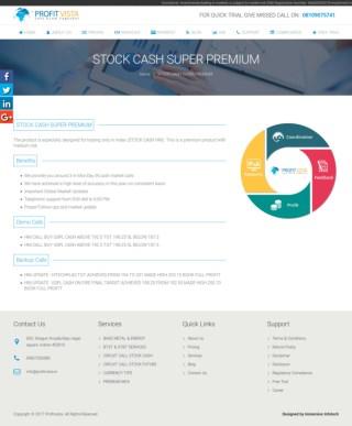 Premium Stock Cash Services By Profitvista