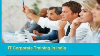 Corporate Training Companies In India