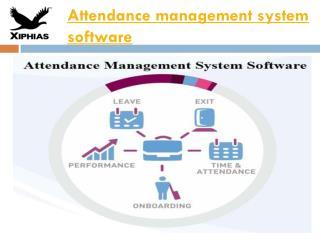 attendance management system software