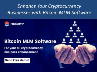 Bitcoin MLM Software | Bitcoin MLM script PHP