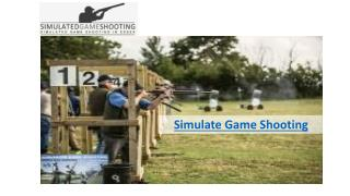 Simulated Game Shooting in Essex