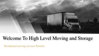 High Level Moving & Storage