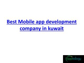 mobile app development company in kuwait