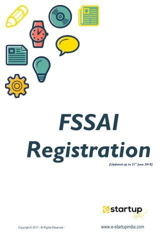 A complete E-guide of FSSAI Registration