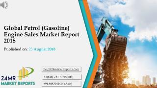 Global Petrol (Gasoline) Engine Sales Market Report 2018