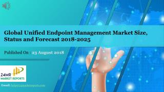 Global Unified Endpoint Management Market Size, Status and Forecast 2018-2025