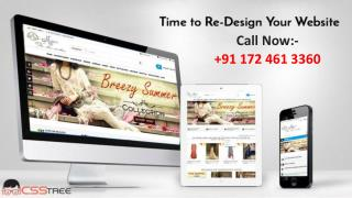 Time to Re-Design Your Website