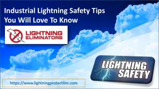 Industrial Lightning Safety Tips You Will Love To Know