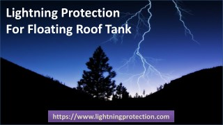 Lightning Protection For Floating Roof Tank
