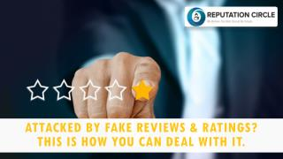 Attacked By Fake Reviews & Ratings? This Is How You Can Deal With It.