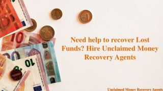 How to Recover your Lost Funds?
