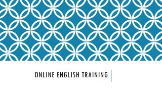 Online English Program