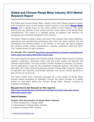 Range Meter 2018-2023 Global Key Manufacturers Analysis Review
