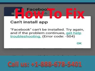 Call  1-888-678-5401 How to fix error code 504 in google play store