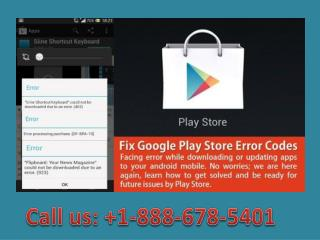 Call  1-888-678-5401 what does server error mean on google play store