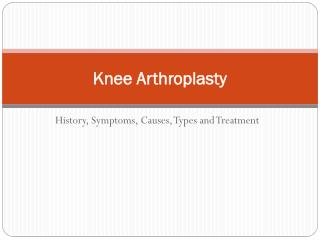 Cost of total knee replacement surgery in India