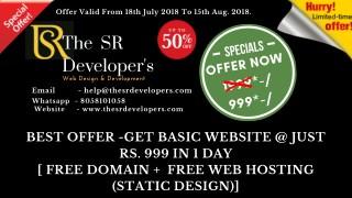 The SR Developers - web design and development