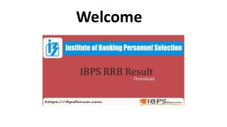 IBPS RRB Result 2018 To Be Release- Check IBPS RRB Prelims Exam Result Here