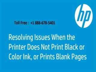 Call  1 888-678-5401 fix printer color problems