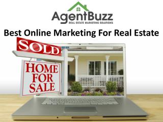 Best Online Marketing For Real Estate-Agent Buzz