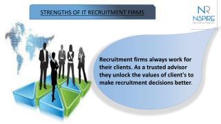 Strengths of IT recruitment firms